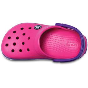 Crocs Crocband - Sandales Enfant - rose/violet